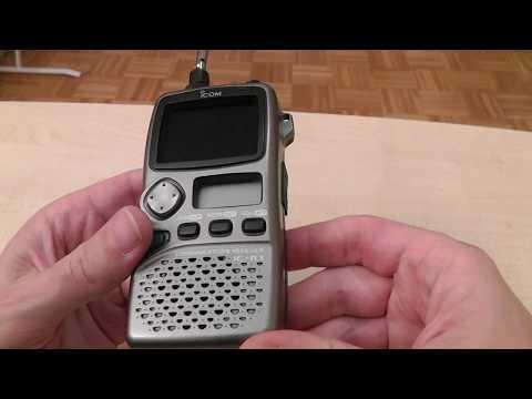 Test Icom IC-R3 Funkscanner
