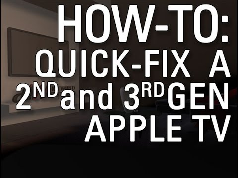 How to Restart Gen. 3 Apple TV