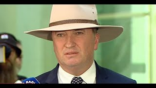 Barnaby Joyce calls Malcolm Turnbull's comments 'inept'