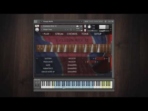Video for Evolution Rick 12 - Factory Preset Walkthrough