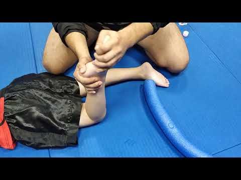 Leg and Foot massage for kids / масаж гомілки та стопи для дітей