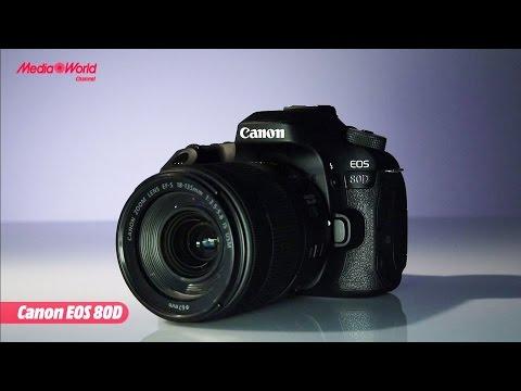 Canon EOS 80D la nuova fotocamera reflex  - ITA -