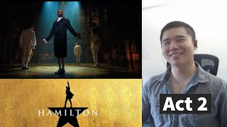 Hamilton Act 2 Movie Reaction and Review!
