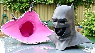 Molding a 3d Printed Batman Cowl!