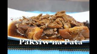 Aling Oday's Paksiw Na Pata
