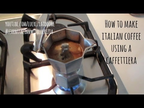 How to use a caffettiera (Italian Moka Pot) | Learn Italian with Lucrezia