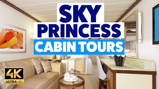 Sky Princess: tours of ALL cabin types!