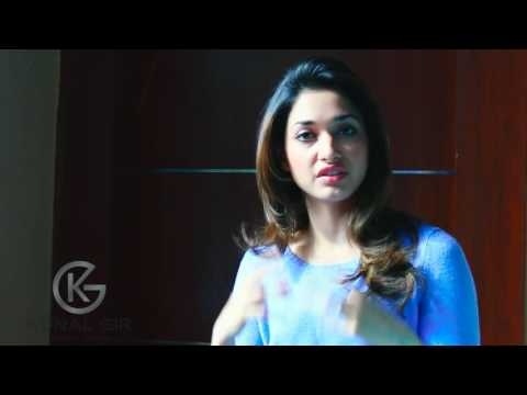 Tamannah Bhatia Sharing her Experience About Steel Gym and Kunal Gir