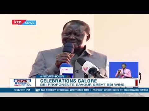 BBI Politics:Uhuru,Raila & their handshake partners continue to savour their sweet victory over BBI