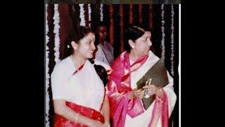 Tere Mere Beech Mein || Lata Mangeshkar || Chithra ||