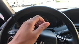 How to open the trunk of a Honda Accord