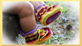 Baby Schuhe Häkeln