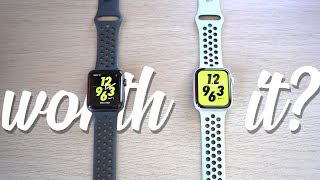 Apple Watch Series 4 VS Series 3 Nike Plus Edition! is Nike+ WORTH it?
