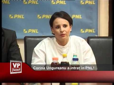 Corina Ungureanu a intrat in PNL!