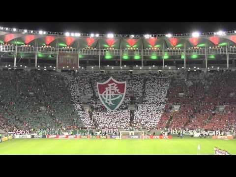 """""""Torcida do Fluminense faz mosaico em 3D"""" Barra: O Bravo Ano de 52 • Club: Fluminense"""