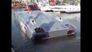 Gopro Scuderia Cazzani Stotler Racing Superboat NY 9/11 Tribute Hudson Hero3