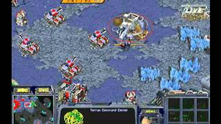 [2008.07.06] 황제의 스타급 센스 - 신한은행 프로리그 2008 13주차 2경기 한빛 Vs 공군 5세트 (오델로) 윤용태(Protoss) Vs 임요환(Terran)