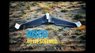 SECOND flight: Parrot DISCO Unlimited Range! 4G LTE softmod. a flight around the neighbourhood ????