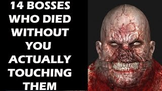 14 Video Game Bosses Who Died Without You Actually Touching Them