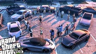 Fight Club! Epic Street Fight Mod! - GTA 5 PC MOD (Fight Club Funny Moments)