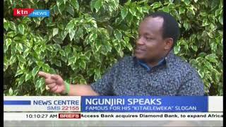 Nyeri Town MP Ngunjiri insists \