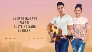 Piolo & Sarah - Paano Ba Ang Magmahal Acoustic (Official Lyric Video) | The Breakup Playlist