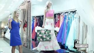 Sherri Hill Couture  On Trend Florals, Lace and Jewel Tones