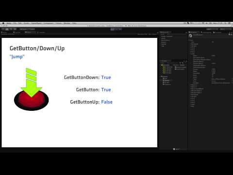 GetButton and GetKey - Unity