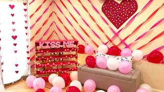 DIY Valentine's Day Kissing Booth