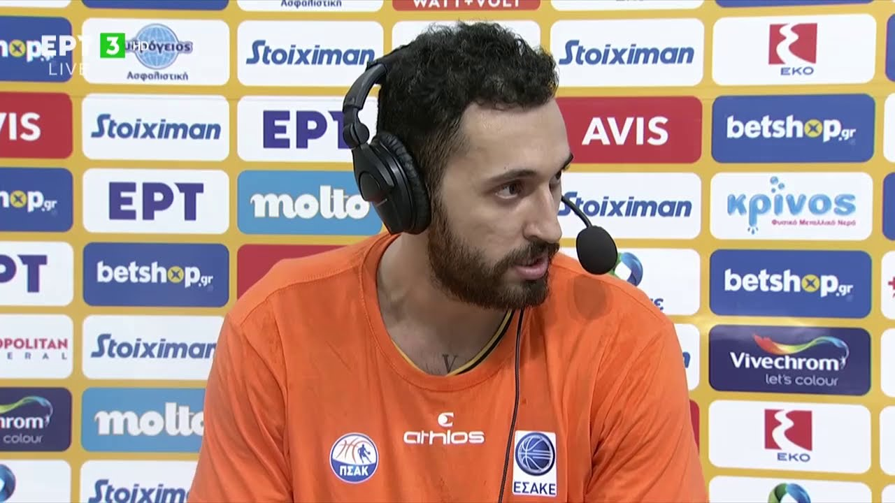 Basket League   Λ. Χρυσικόπουλος: Να φανούμε αντάξιοι των προσδοκιών, είμαστε εντός στόχων  6/2  ΕΡΤ