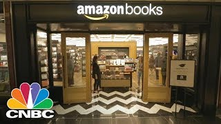 AMAZON.COM INC. - Amazon's First Brick-And-Mortar Bookstore Opens In New York City | CNBC