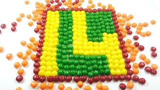 Learn to count 1 to 20  with CANDY NUMBERS * Kids numbers activity* | Learn numbers with smarties