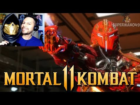 OH MY GOD ITS SEKTOR!! - Mortal Kombat 11: Official Launch Trailer REACTION