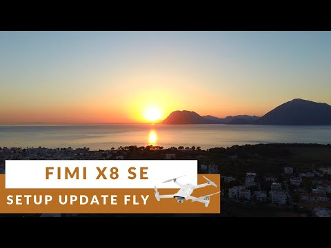 Fimi X8 SE  How to setup update and flight | Beautiful footage | Banggood.com