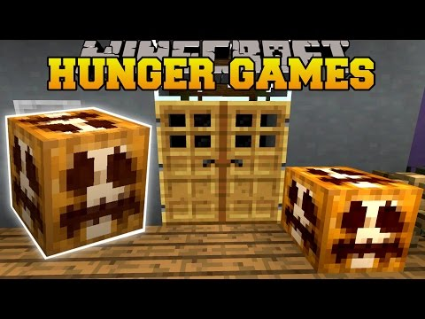 Minecraft: TRICK OR TREAT HUNGER GAMES - Lucky Block Mod - Modded Mini-Game