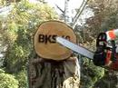 "2 Motorsägen im Test : ""OBI BKS 40   vs.  Stihl MS 180"""
