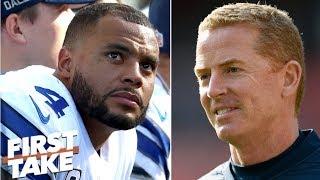 Cowboys must choose between Dak Prescott and Jason Garrett - Max Kellerman | First Take