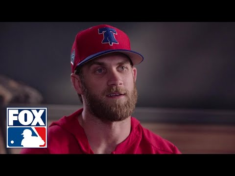 Bryce Harper 1-on-1 interview with Ken Rosenthal - Full Version | FOX MLB