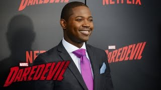 Stephen Rider on Blake Tower – Marvel's Daredevil Season 2 Red Carpet