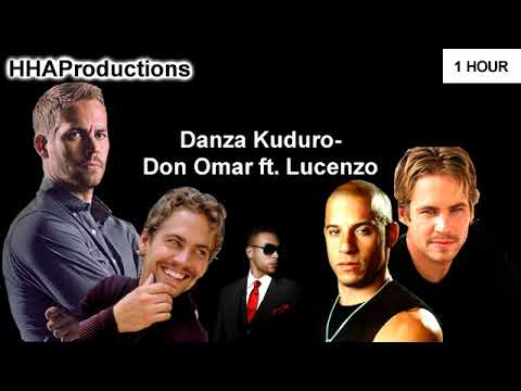 Don Omar - Danza Kuduro ft. Lucenzo (1 Hour)