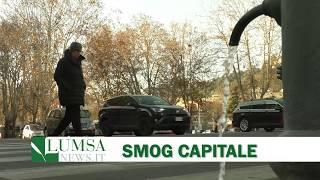 Allarme smog, stop alla circolazione dei diesel a Roma