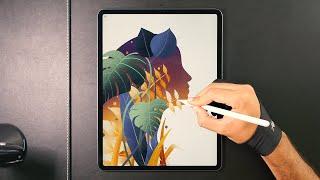 Digital Illustration On IPad Pro