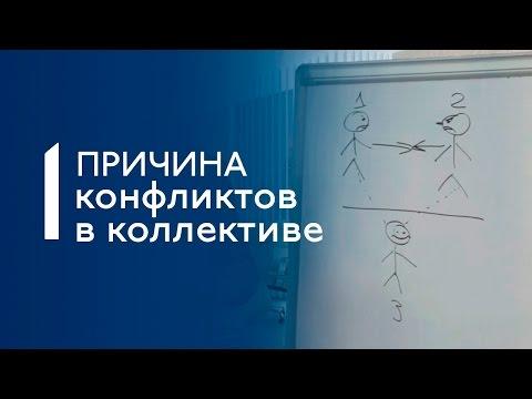 Конфликты в коллективе. 4 примера. 1 причина - Вадим Мальчиков