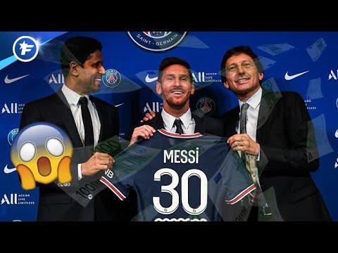 Les chiffres complétement fous de l'opération Lionel Messi au PSG   Revue de presse