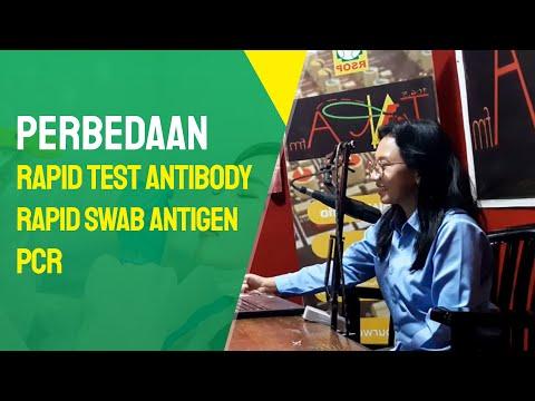 Pahami Perbedaan Rapid Test Antibody, Rapid Swab Antigen dan PCR   Talkshow Dokter Tara