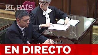 DIRECTO JUICIO DEL PROCÉS   Sigue Declarando TRAPERO, Exjefe De Los MOSSOS