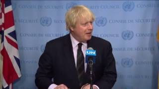 Boris Johnson on the terrorists attacks in London
