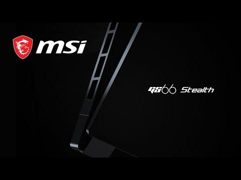 GS66 Stealth 輕薄黑魂電競筆電