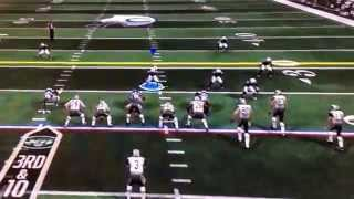 Freaknasty - u had me beat on the drag u threw (which your rookie QB missed) - graham was open too!