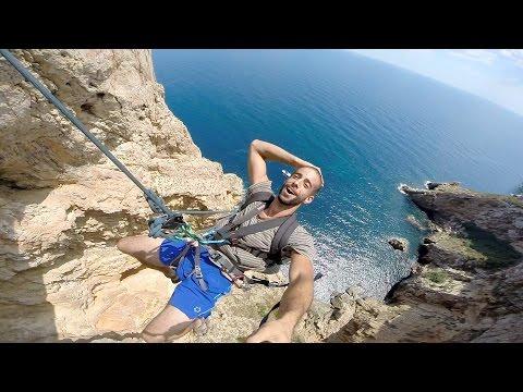hqdefault - Hoy nos vamos a un acantilado de Alicante a lanzarnos con una cuerda